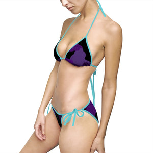 Homefront Girl® Purply Camo --Bikini Swimsuit