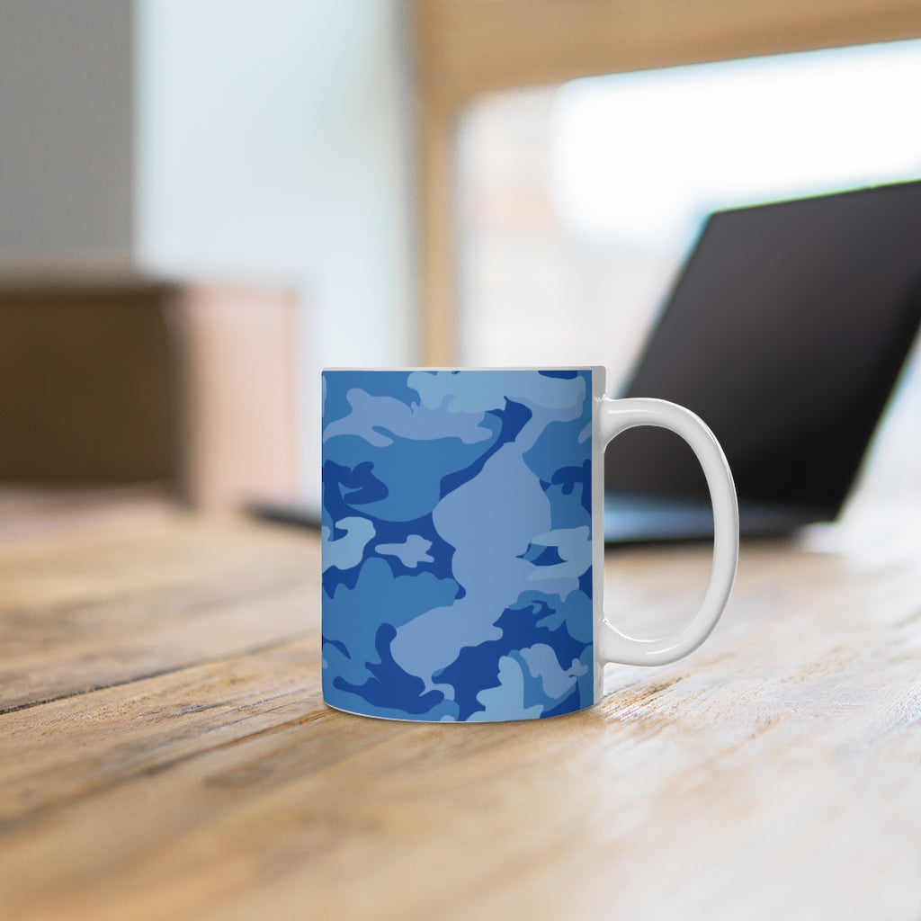 Dreams of Blue Camo -Ceramic Mug - [shop_home]