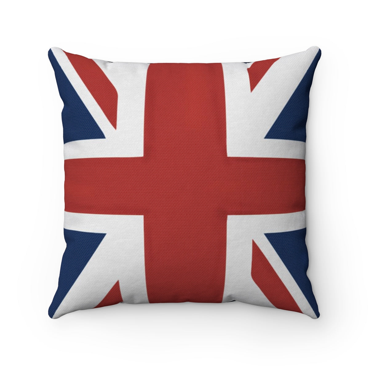 Proud British Military - LOVE MY HERO  - Spun Polyester Square Pillow