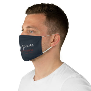 "Military Spouse ANything BUT Dependent"" -Face Mask - [shop_home]"