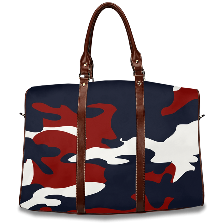 The Homefront Girl´® Signature Red, White and Blue Camo -Travel Bags