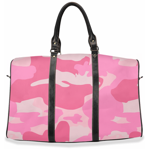"""La Vie en Rose"" Camo - Travel Bag"