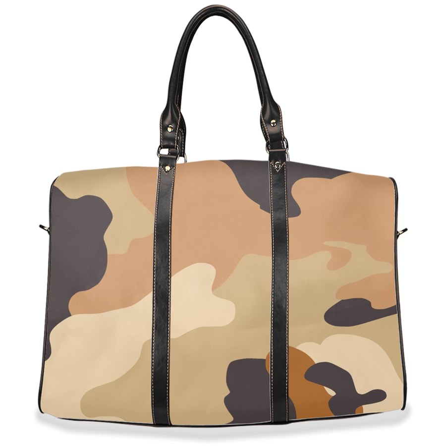 """Espresso Camo"" - Travel Bag"