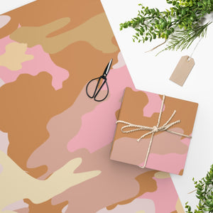 "Homefront Baby®  ""Baby Camo welcome to the world of Camo"" -Wrapping Paper"