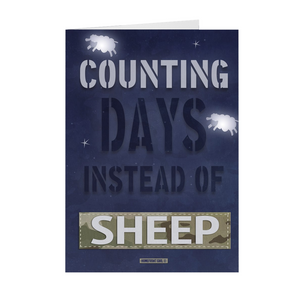 "The Homefront Girl® Deployment Card Collection ""Counting Days instead of Sheep"" Boxed Cards - [shop_home]"