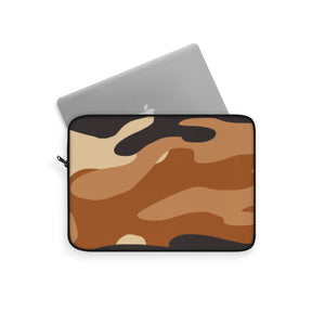 """Espresso Camo"" Laptop Sleeve - [shop_home]"