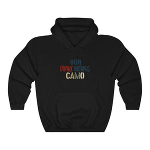 """My Family Wears Camo: -Unisex Heavy Blend™ Hooded Sweatshirt - [shop_home]"