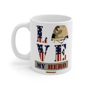 """Love My Hero"" Mug 11oz - [shop_home]"