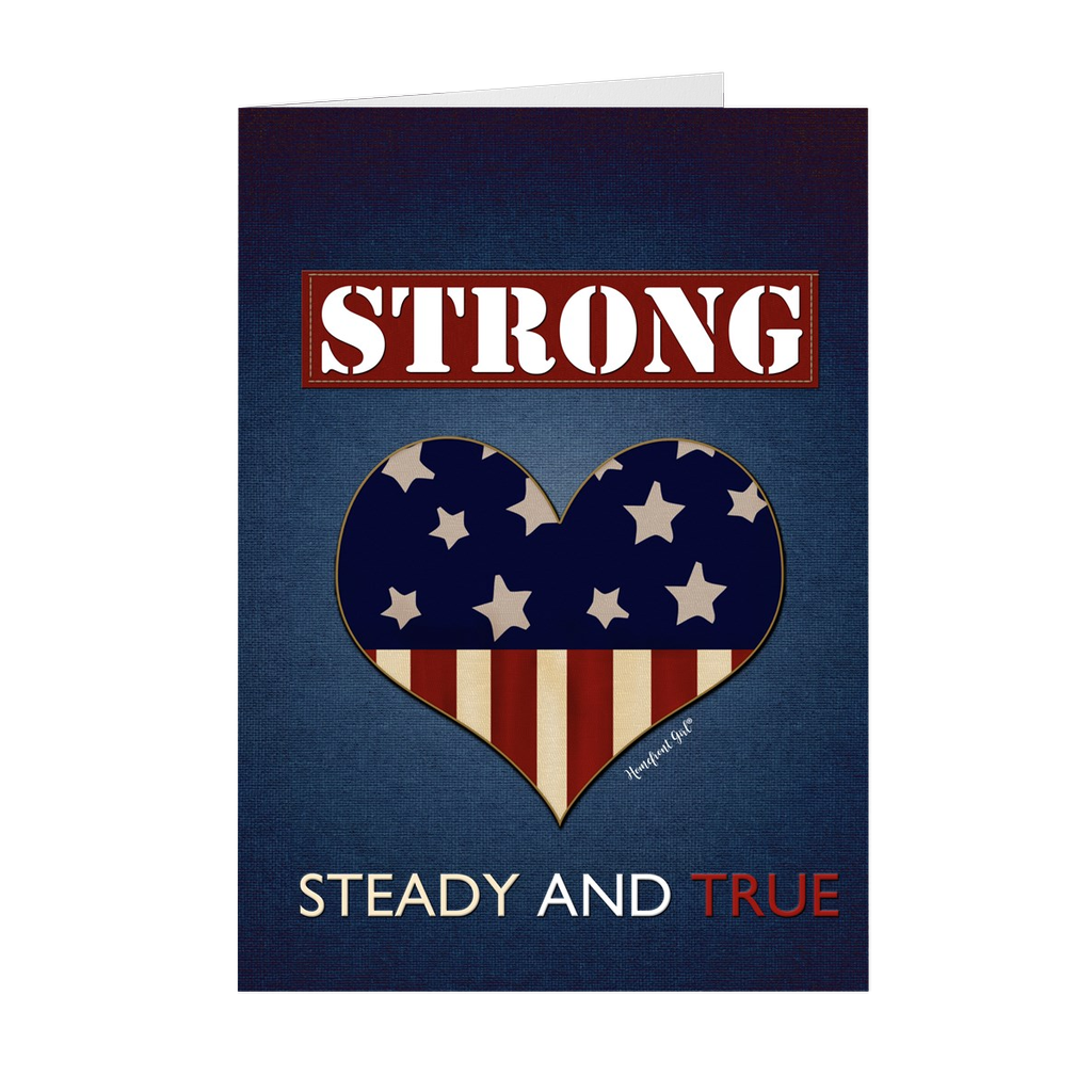 "The Homefront Girl® Deployment Card Collection  ""Strong, Steady and True"" - [shop_home]"