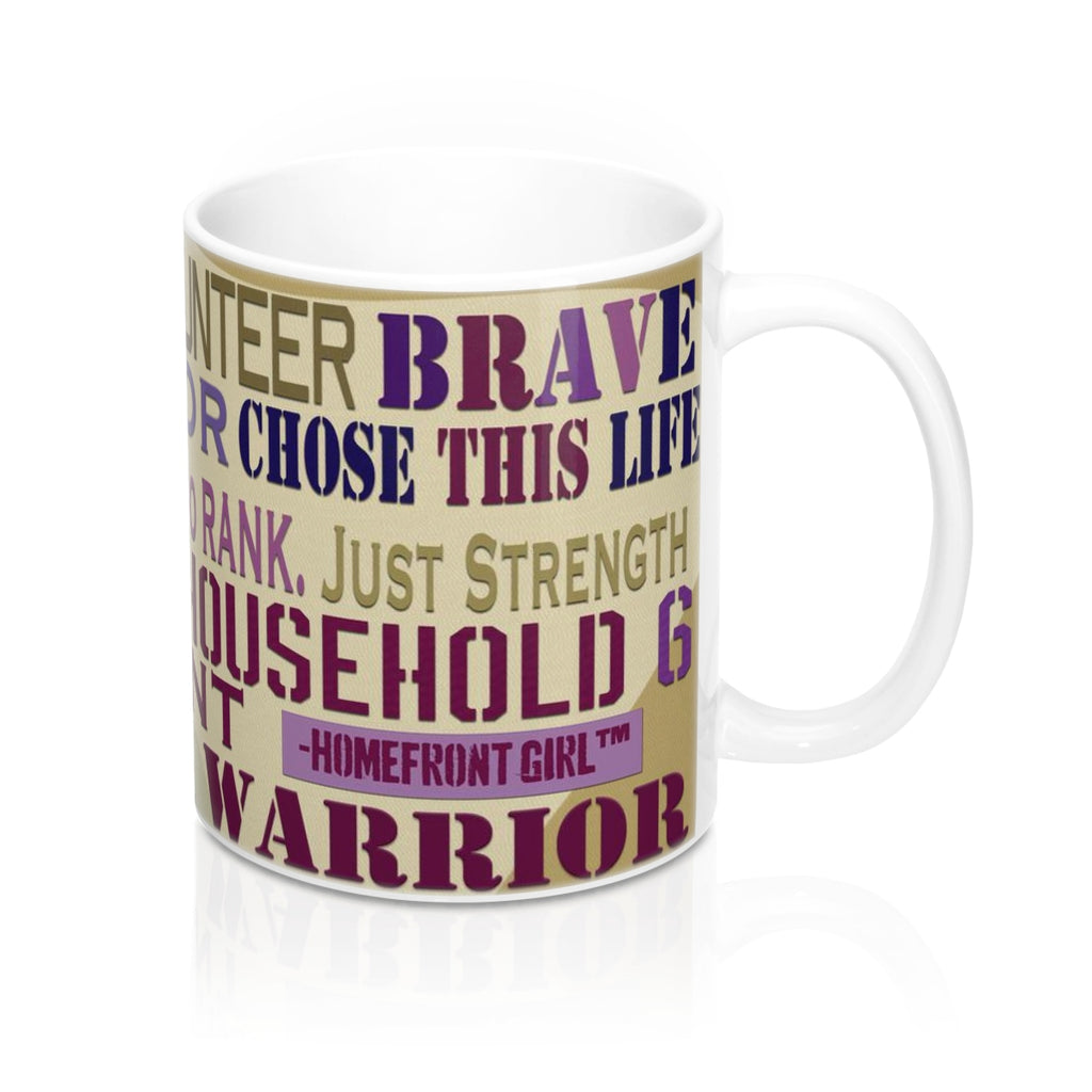 Homefront Girl® Sisterhood Word Cloud -Mug 11oz - Homefront Girl