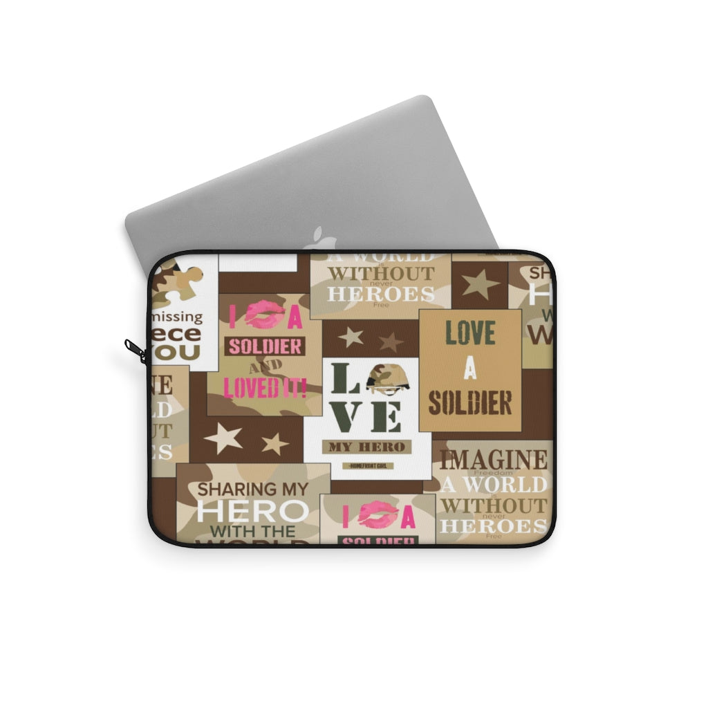 The Homefront Girl® Signature patchwork - Laptop Sleeve - [shop_home]