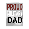 "The Homefront Girl® Deployment Card Collection ""Proud Military Dad"""
