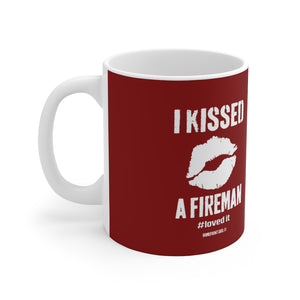 """I Kissed a FIREMAN #Lovedit ™Ceramic Mug - [shop_home]"