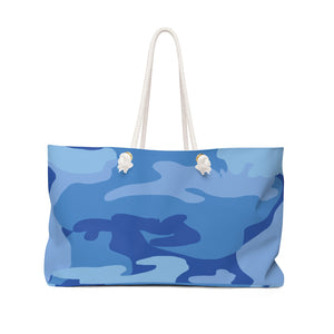 Dream of Blue Camo- Weekender Bag - [shop_home]