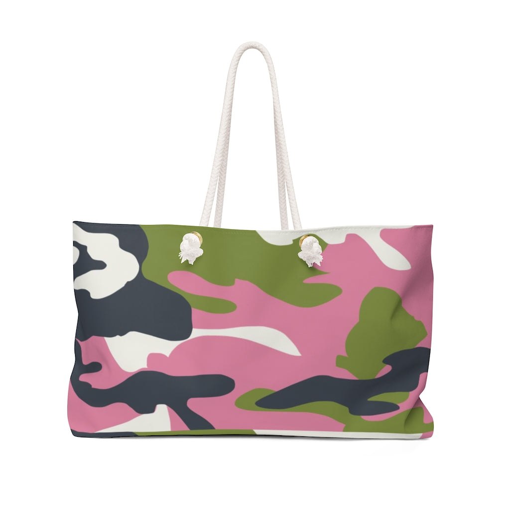 """The Hamptons Camo ""- Weekender Bag - [shop_home]"