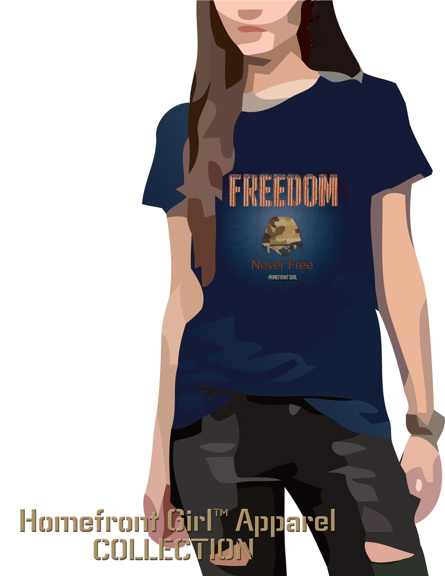 Freedom is never Free - Women's V-neck