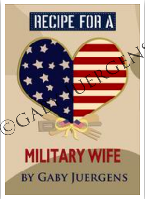 Recipe For A Military Wife Gift Book