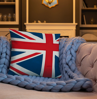 The Homefront Girl® UK Throw Pillow - [shop_home]