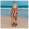 The Homefront Girl® Signature flag -One-Piece Swimsuit