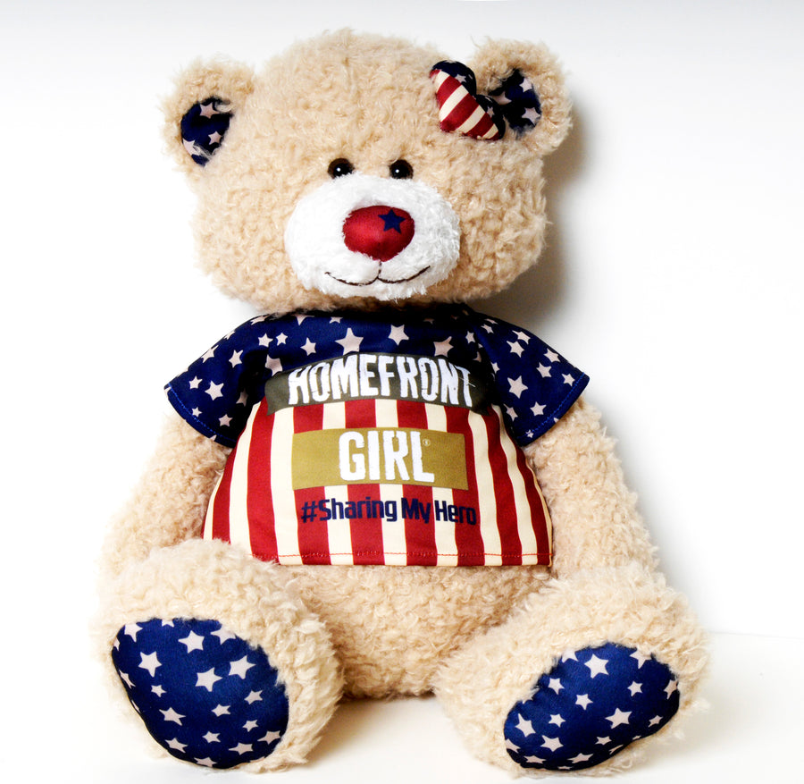 Homefront Girl Signature Bear