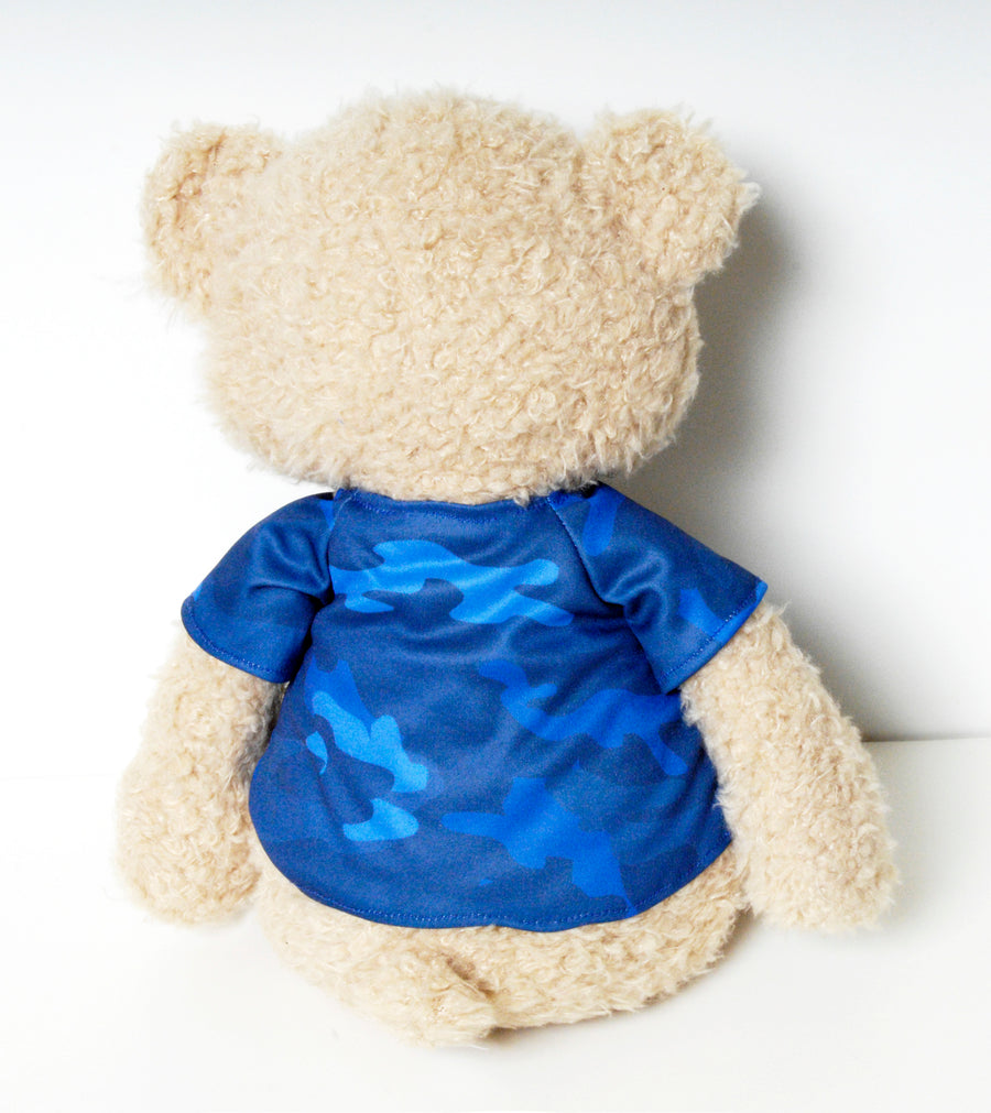 I Kissed a Sailor Blue Signature Bear