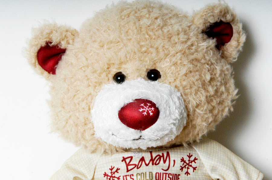 Baby it's Cold outside - Signature Holiday Teddy Bear