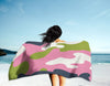 The Homefront Girl® Camo -Beach Towel