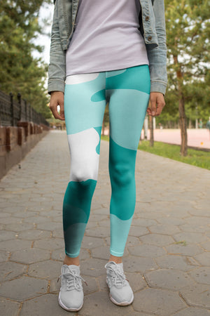 """Timeless Tiffany"" Camo - Yoga Leggings"