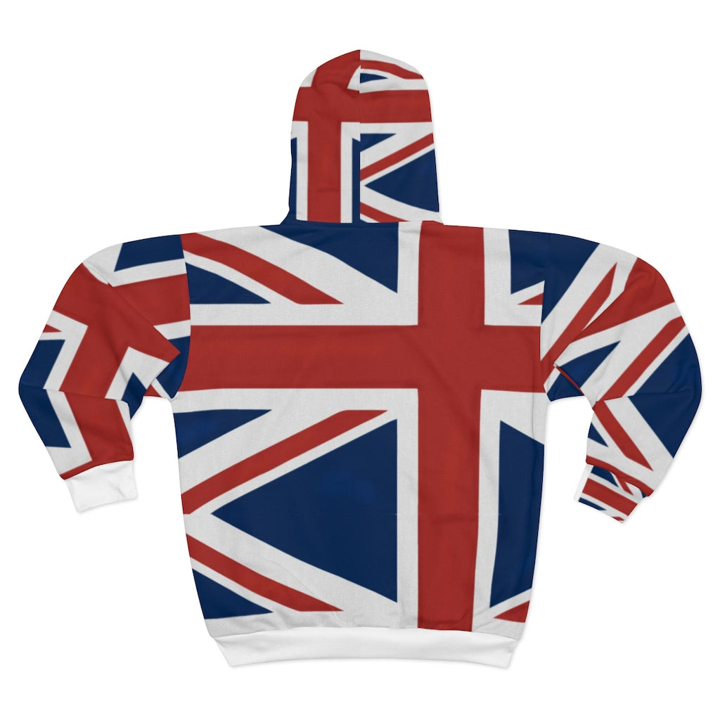 Homefront Girl® Brand UK - Unisex Zip Hoodie
