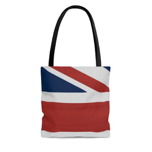 The Homefront Girl® UK Union Jack design -Tote Bag - [shop_home]