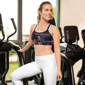 "HFG®"" Fair winds and Following seas""  design -Sports bra"