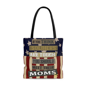 The Homefront Girl® Signature Design - Meet their Mom's - Tote Bag