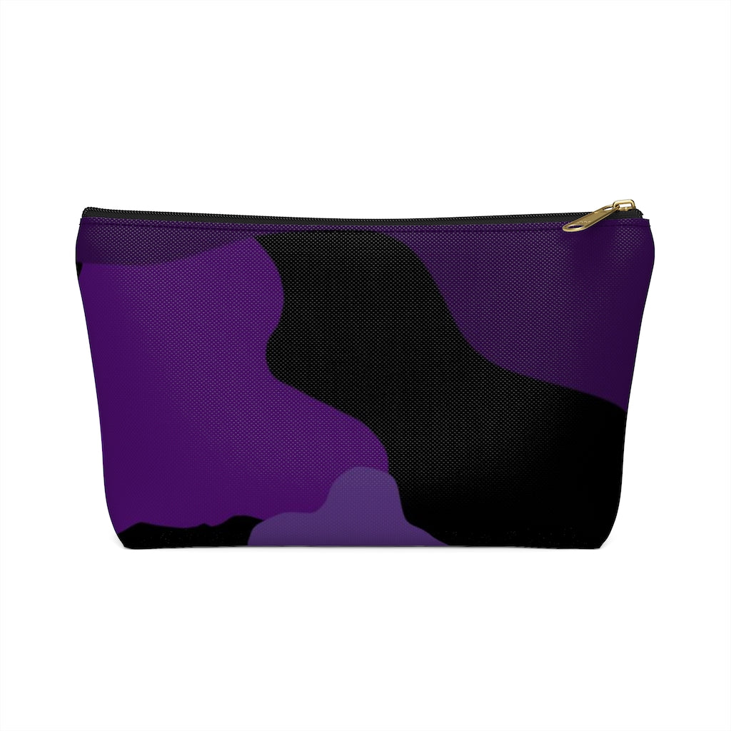 "Homefront GIrl® ""Purple Camo Fun"" Accessory Pouch w T-bottom - [shop_home]"