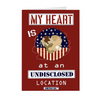 "The Homefront Girl® Deployment Card Collection ""My Heart is at an Undisclosed Location"""