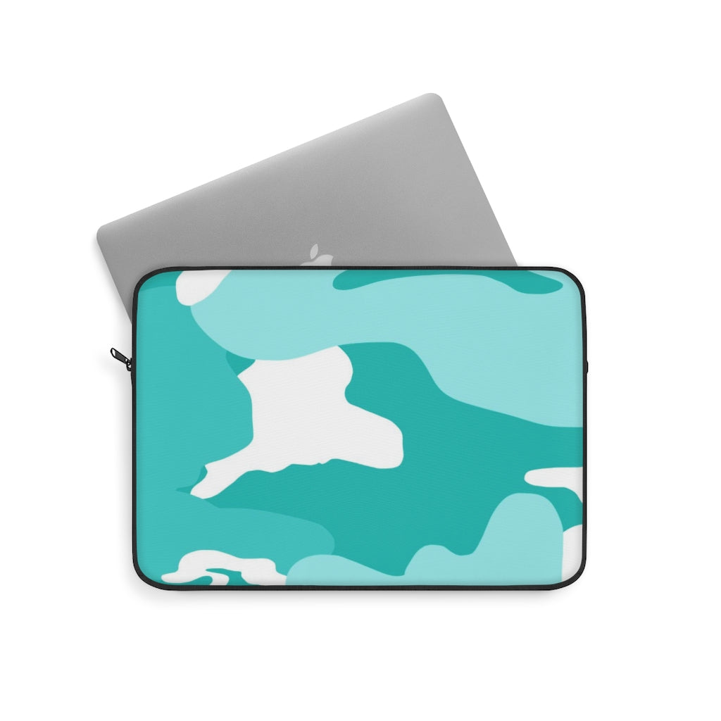 """Tiffany Camo""  Laptop Sleeve - [shop_home]"