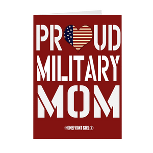 "The Homefront Girl® Deployment Card Collection ""Proud Military Mom"" Boxed Cards - [shop_home]"