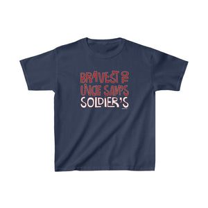 "Homefront Kids™ ""BRAVEST OF UNCLE SAM'S SOLDIER'S™"" - Heavy Cotton™ Tee - [shop_home]"