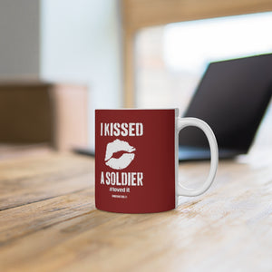 """I Kissed a Soldier #Lovedit ™ Ceramic Mug - [shop_home]"