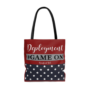 Homefront Girl® DEPLOYMENT #GAMEON - Tote Bag