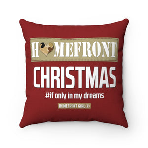 Homefront Christmas - Spun Polyester Square Pillow - [shop_home]