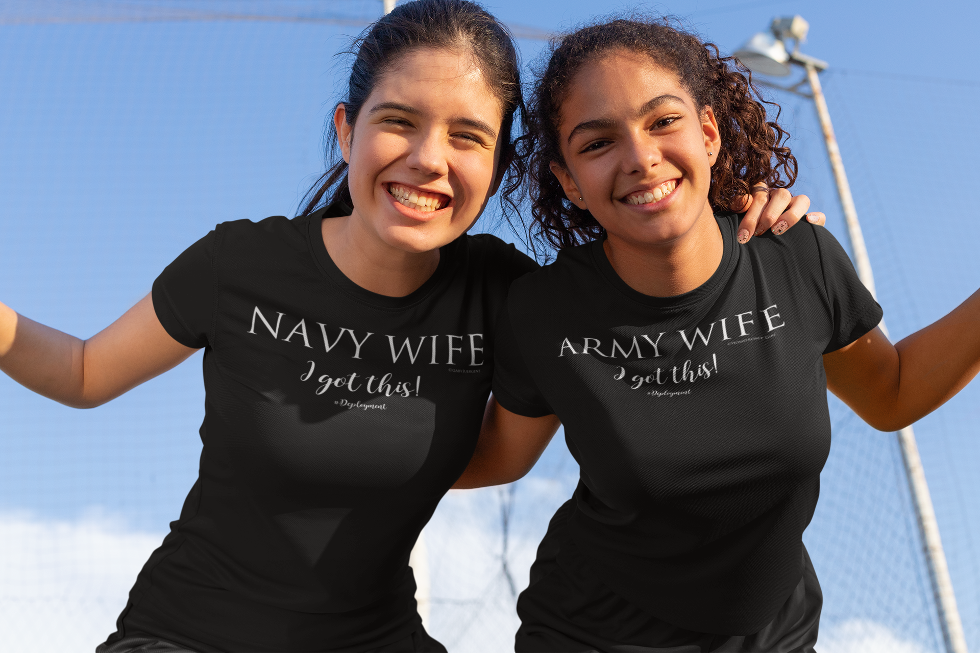 "Navy Wife ""I got this"" #Deployment Jersey Short Sleeve Tee - [shop_home]"