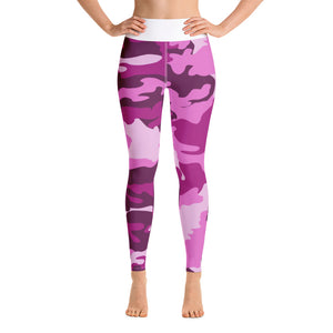 Homefront Girl® Orchid Camo -Yoga Leggings