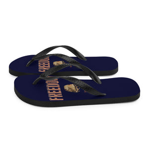 """Freedom NEVER FREE""  - Flip-Flops - [shop_home]"