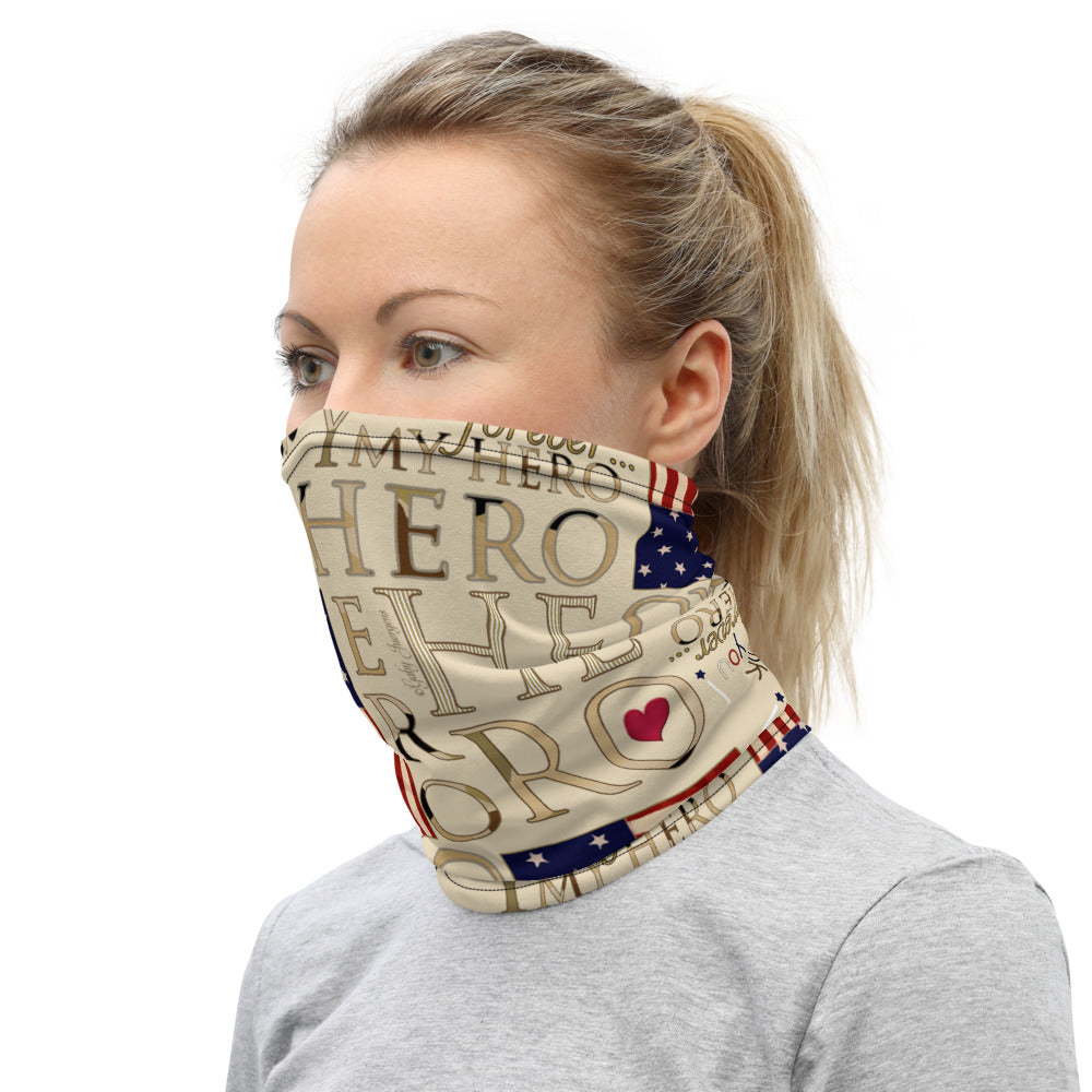"""My Hero"" Design Face mask"