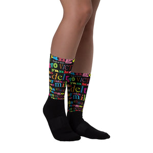 """TANGO MIKE"" - Homefront Girl® Sock collection"