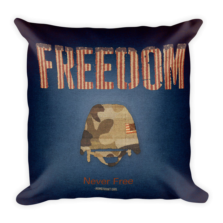 Freedom - Pillow (Blue)