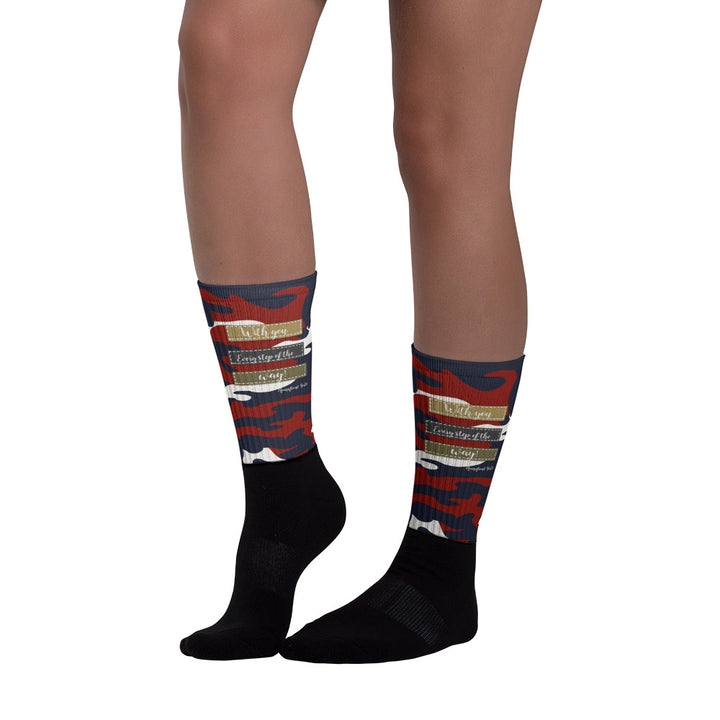 """With you every step of the way"" - Homefront Girl® Sock collection"