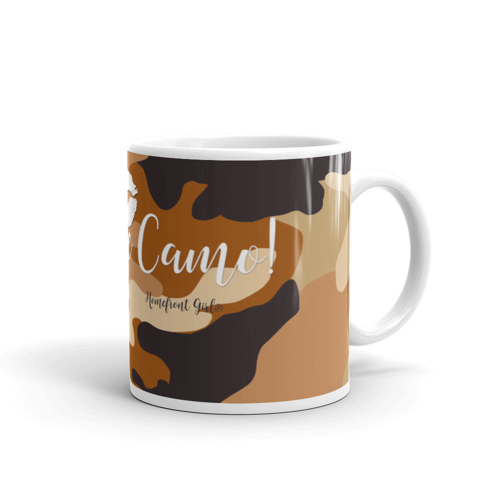 Kiss me Camo™ -Mug - Homefront Girl