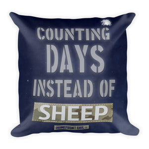 "Counting Days instead of Sheep - Pillow ""Night Sky Series"""