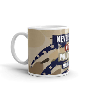 """Never Mess with a Military Mama Bear"" -Mug - Homefront Girl"